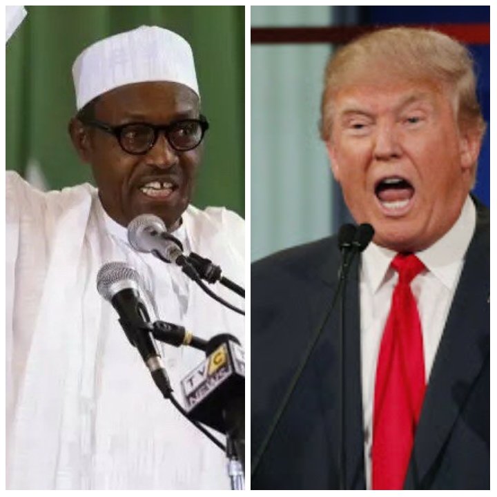 Buhari, World leaders congratulate Trump