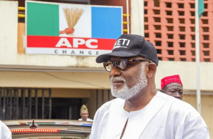 BREAKING : INEC declares Rotimi Akeredolu winner of #OndoDecides