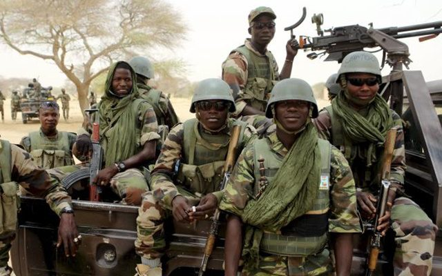 Nigerian Soldiers rescue 85 people held by insurgency