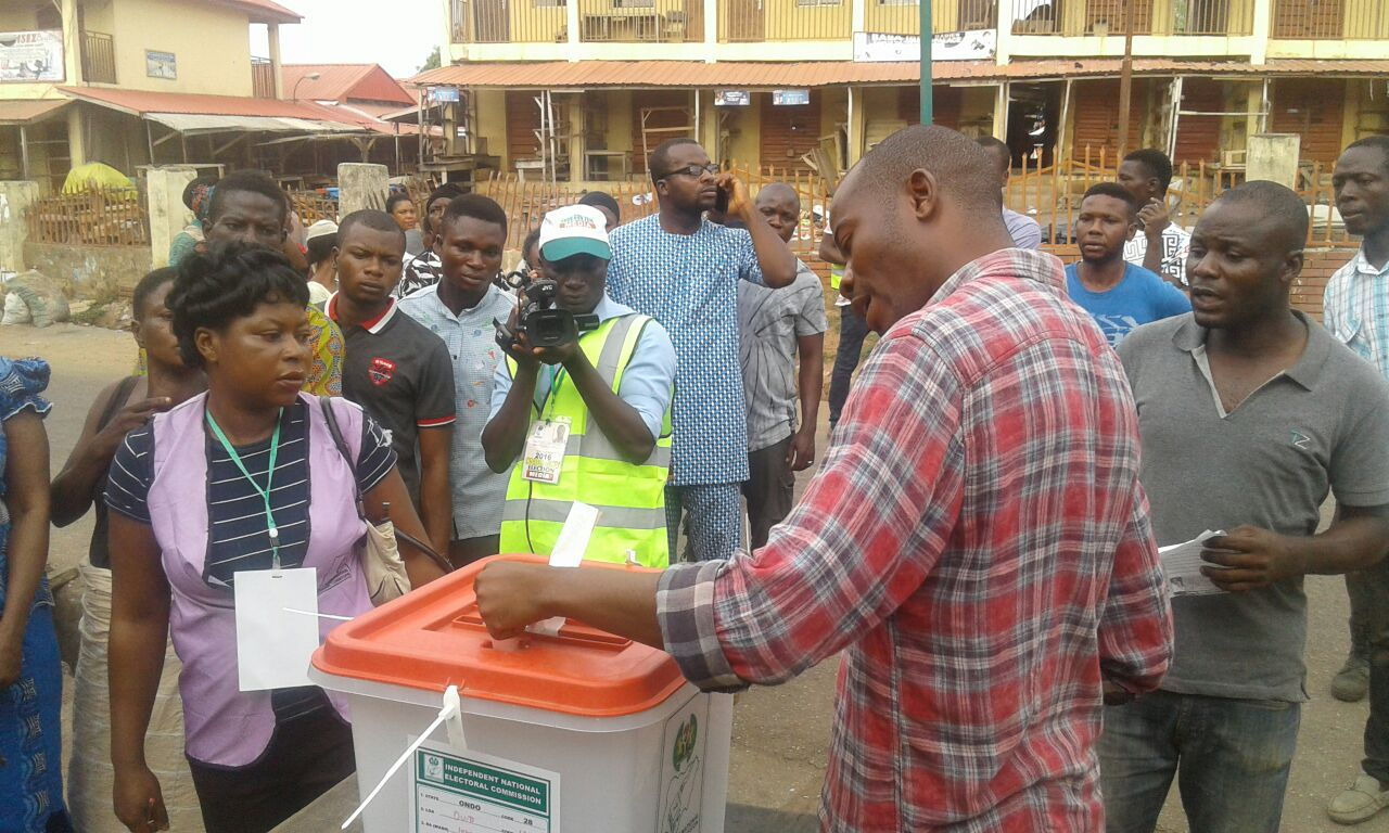 Accreditation, voting begin in Ondo Gov Poll