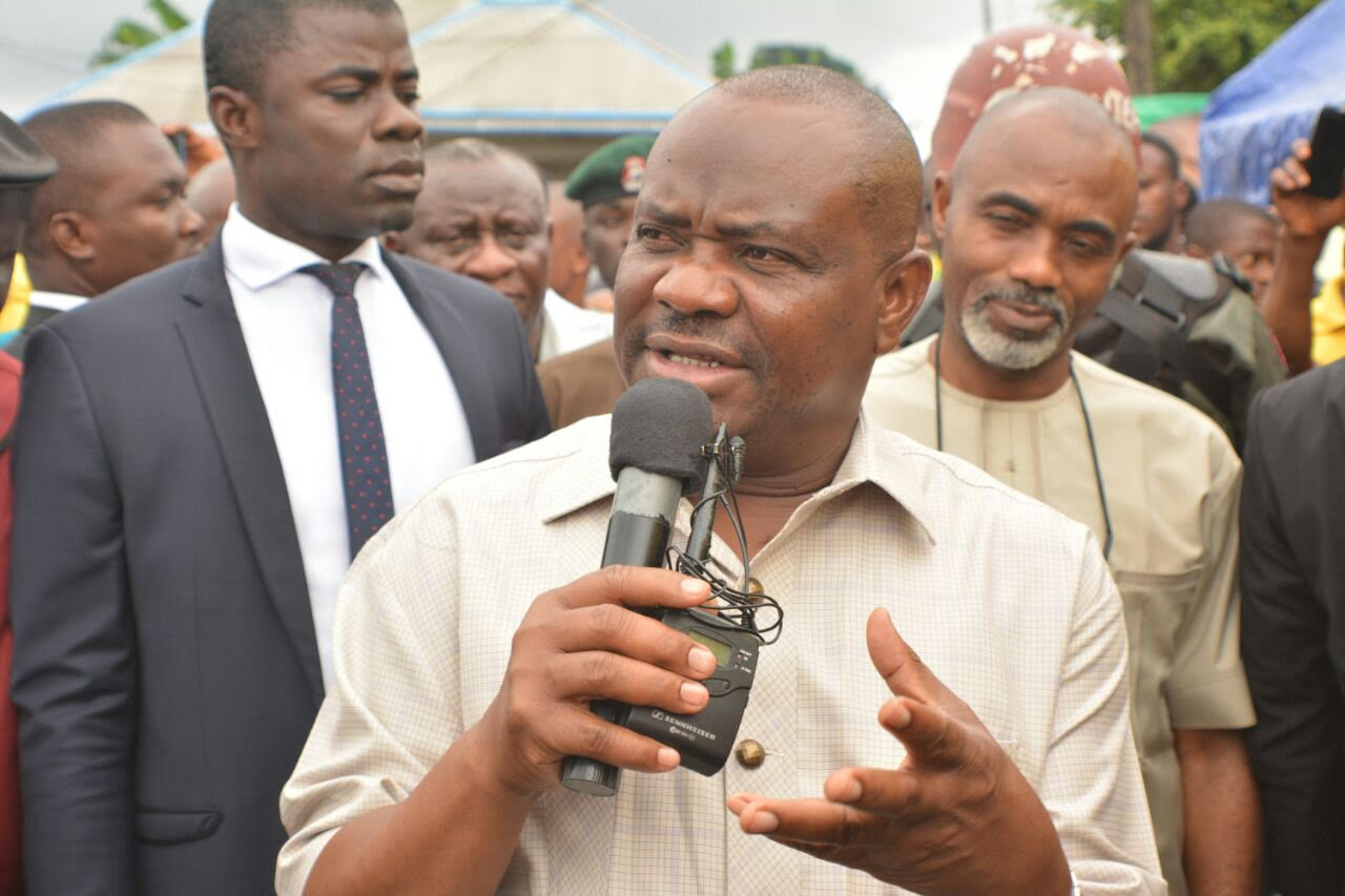 Rerun: Governor Wike, APC bicker over printing over fake result sheets