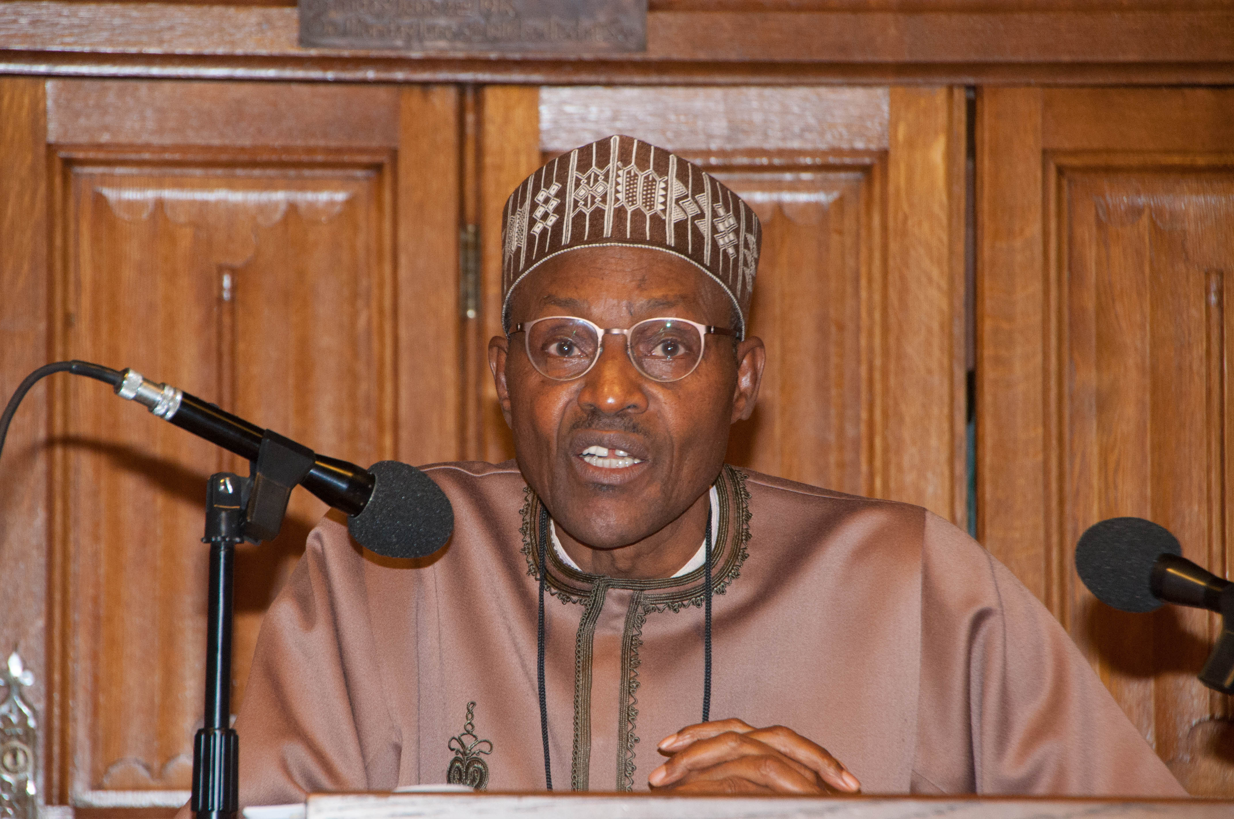Leave Nigeria if you have another country, says Buhari