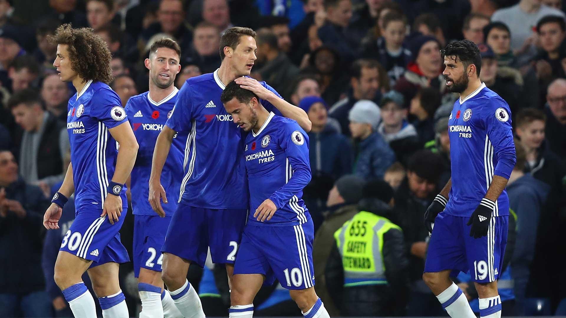 EPL: Chelsea annihilates Everton to go top