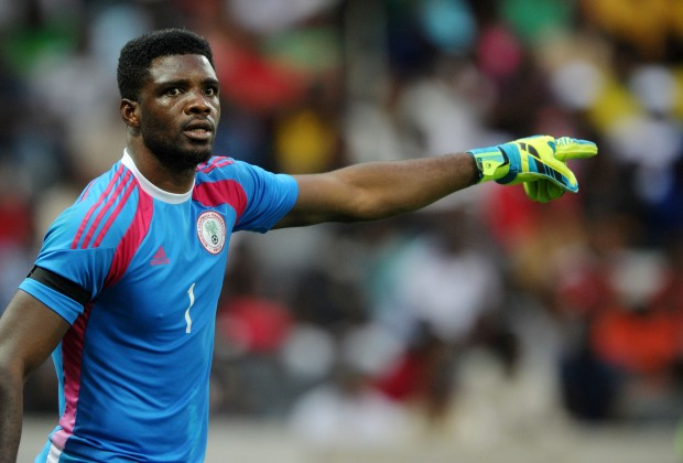 Akpeyi to arrive Eagles camp on Monday