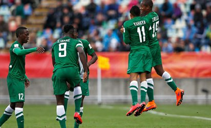 Flying Eagles suffer 8-1 loss to England