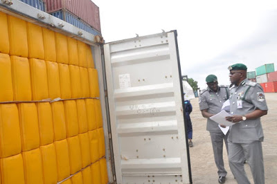 Customs intercepts containers of vegetable oil