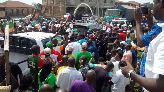 Ondo: PDP Youths protest, want election postponed
