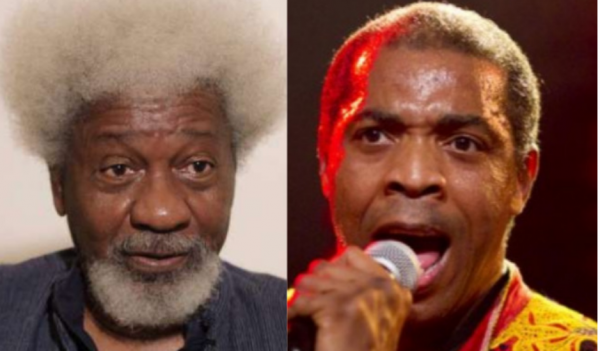 Why does Wole Soyinka have a green card – Femi Kuti