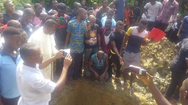 Agony, tears at burial of 3SC's Izu Joseph