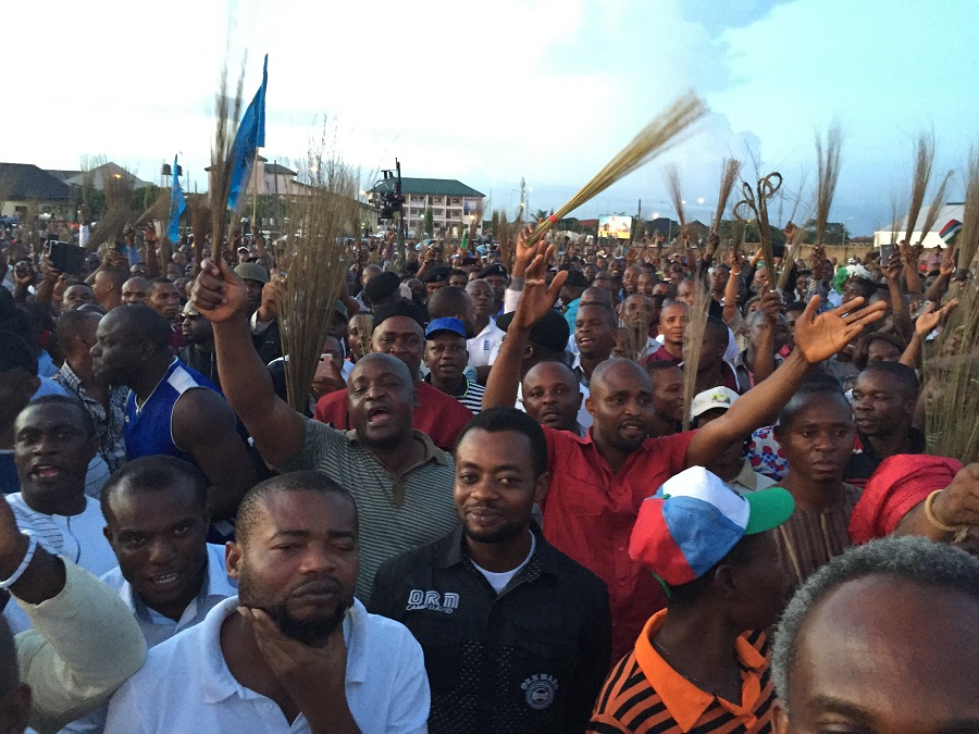 Rivers PDP, APC continue protest