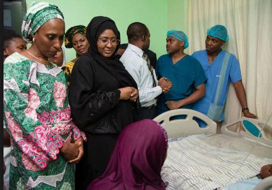 Aisha Buhari sends gift to children hospital