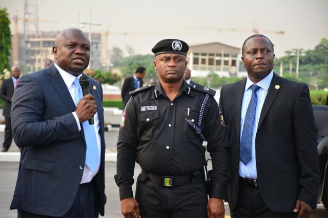 Ambode raises Police death Insurance benefit to N10mn