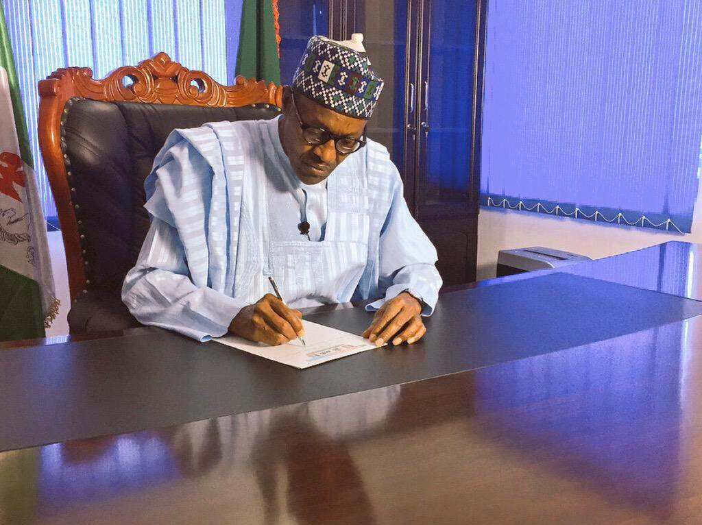 Buhari seeks Senate confirmation of Anyene as Auditor General