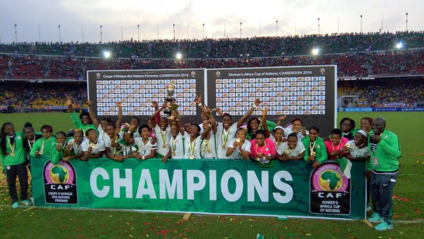 Victorious Super Falcons arrive Nigeria