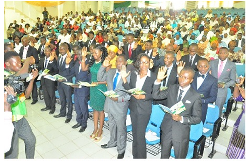Lagos state Medical School inducts 54 new doctors