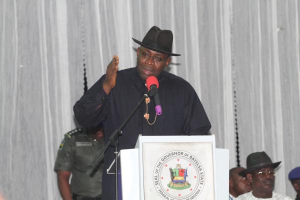 Bayelsa governor presents 221 billion naira budget