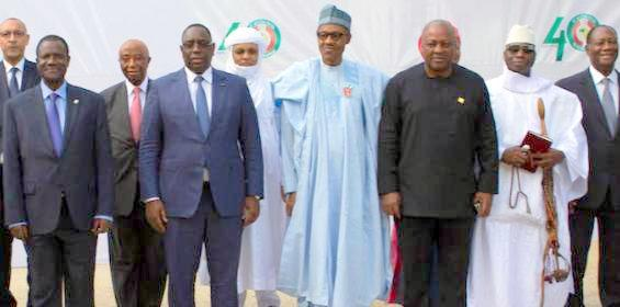 ECOWAS leaders say committed to ending political crises in region