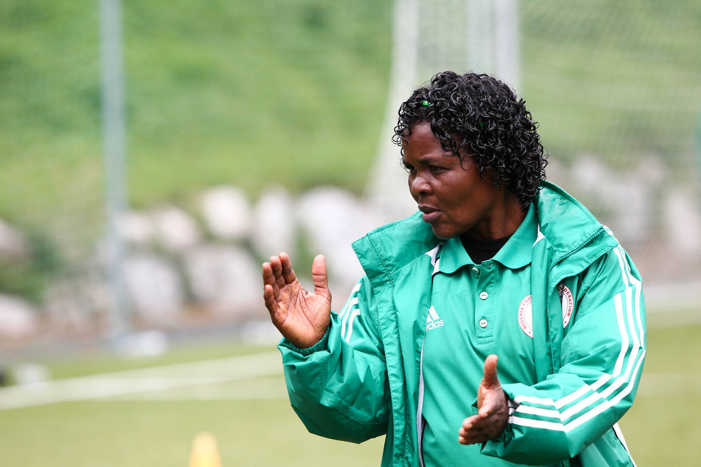 Eucharia wants more encouragement for female coaches