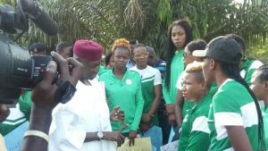 Presidency assures Super Falcons of payment after protest