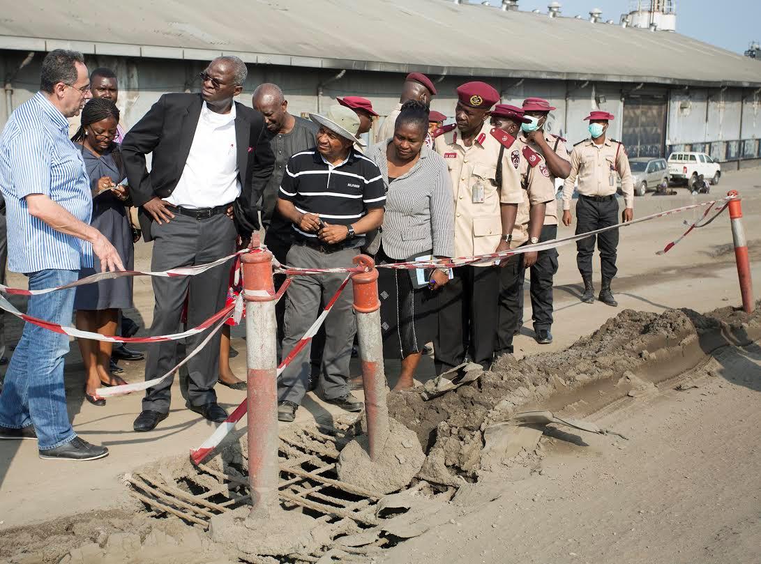 Fashola inspects long bridge portion of Lagos-Ibadan expressway