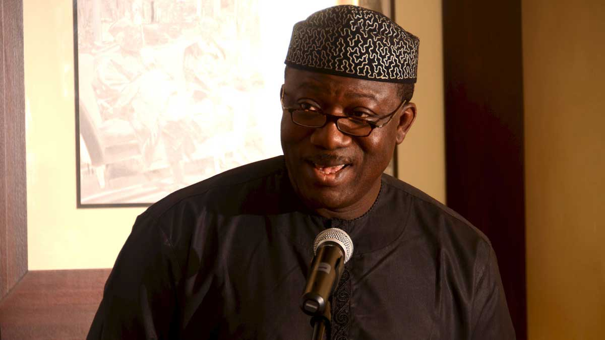 Corruption should be reduced to the minimum – Fayemi