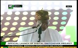 FG officially launches Digital Switchover Project in Abuja