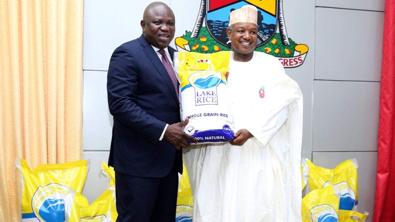 "Lagos, Kebbi officially present ""Lake Rice"""