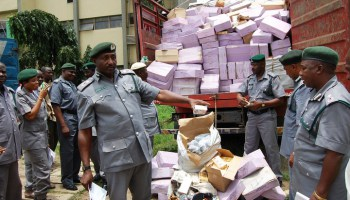 Seme Customs impounds consignments of food stuff