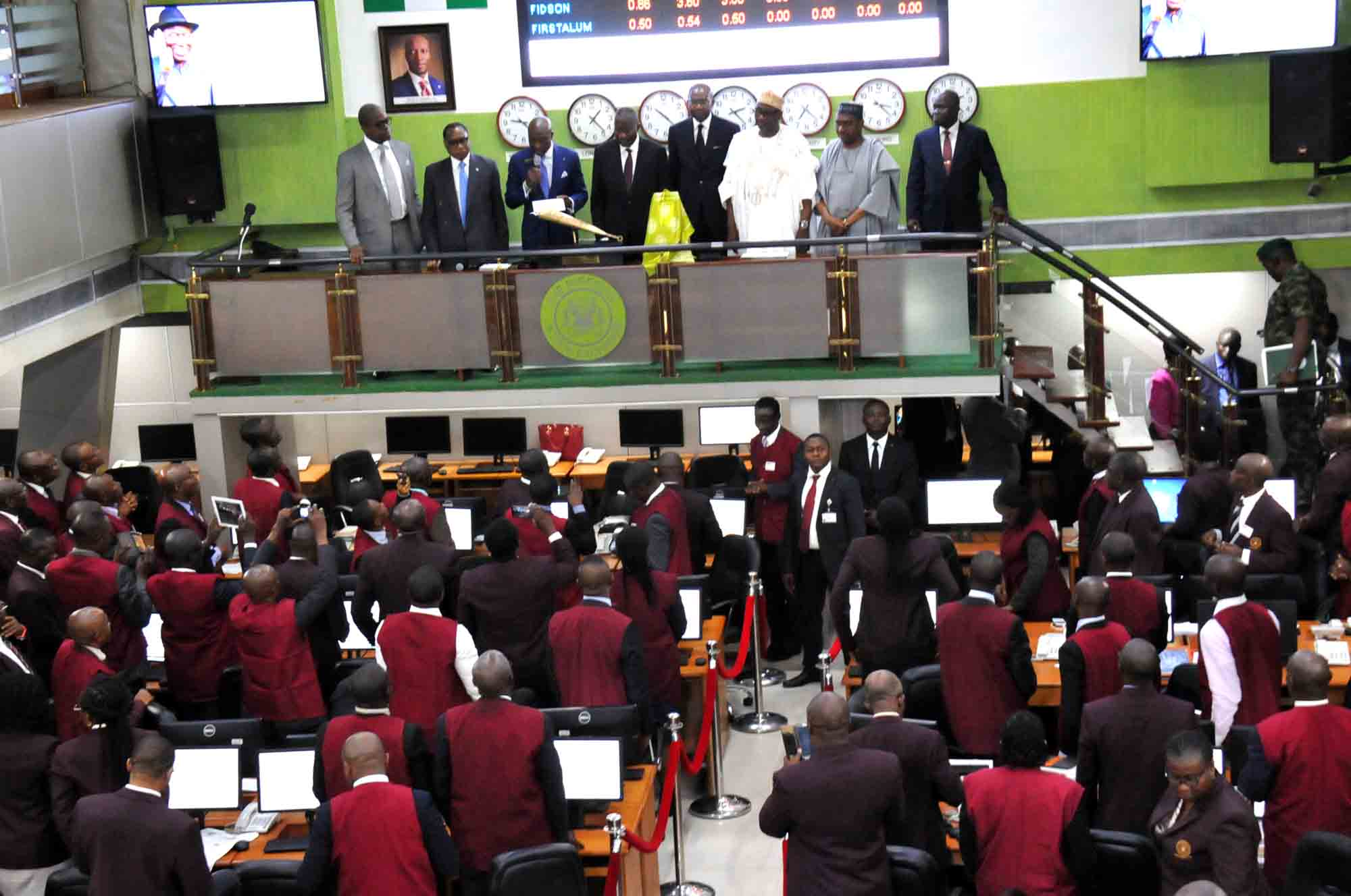 Chartered Bankers Insitute visits Nigerian Stock Exchange