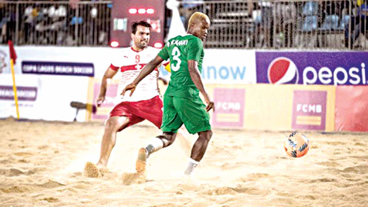 Sand Eagles consoled by world cup ticket – Okemiri