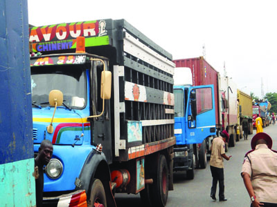 FRSC, truck drivers ban night driving
