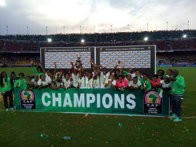 Falcons win 8th AWCON title in Cameroon