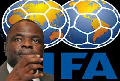 Amos Adamu faces another FIFA ban