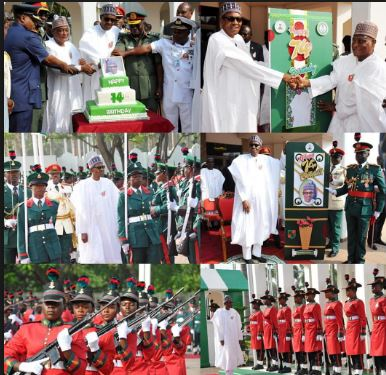 Buhari marks 74th birthday with special military parade
