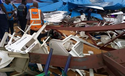 60 rescued from debris of Uyo's collapsed Church