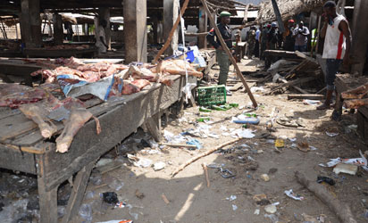 Vigilantes foil bomb attack at Maiduguri Cattle market