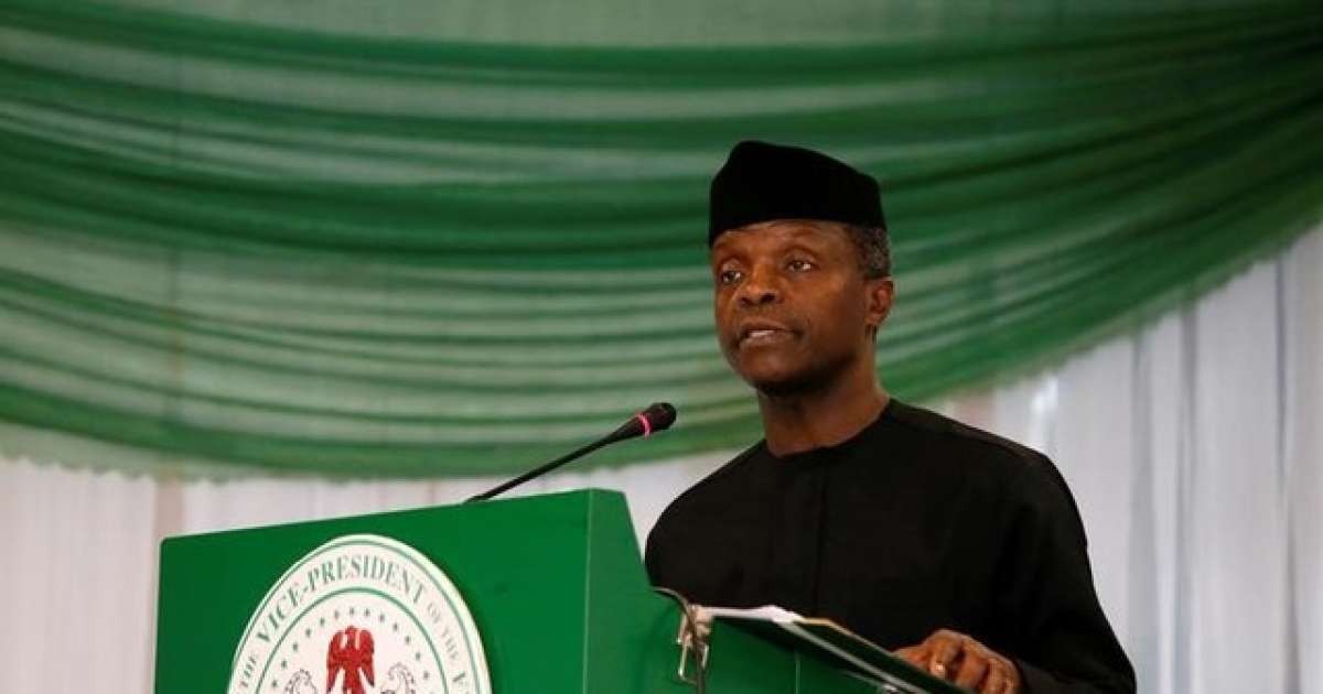FG committed to reforming Agriculture – Osinbajo