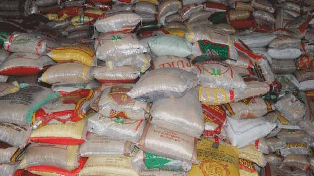 40,000 seized bags of rice shared to IDPs camps, says Customs