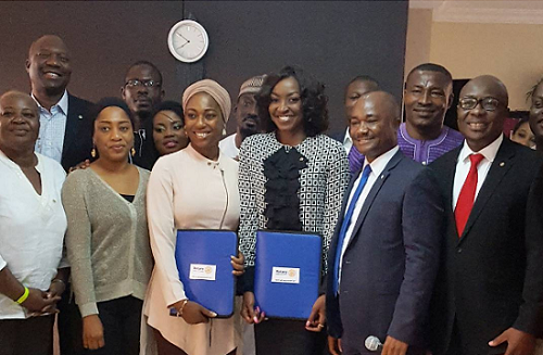 Kate Henshaw gets Inducted into Rotary Club District 9110