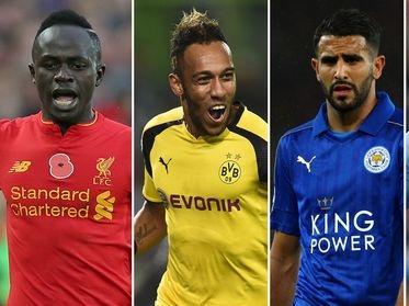 CAF Award: Mahrez, Aubameyang, Mane make final shortlist