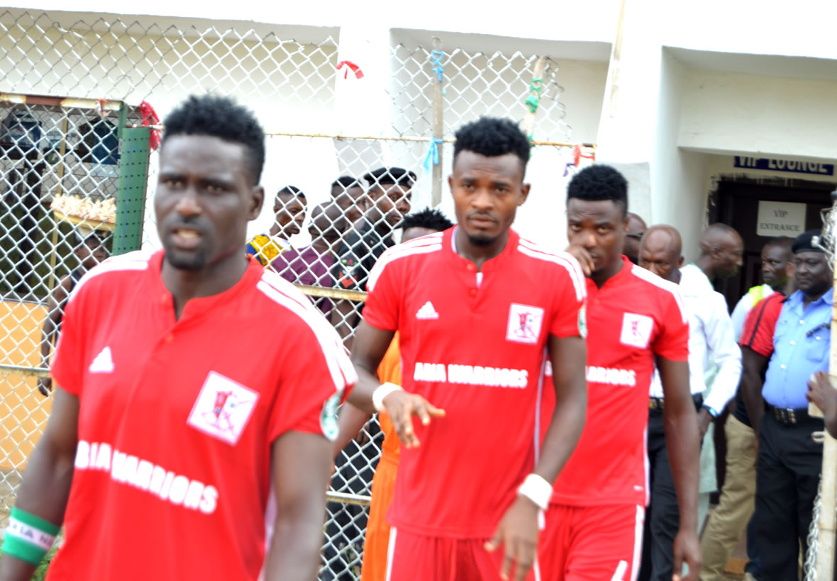 Abia Warriors storm Asaba for pre-season