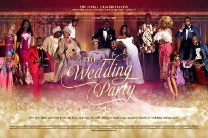 """The Wedding Party"" Romantic comedy grosses over N120M in 12 days"