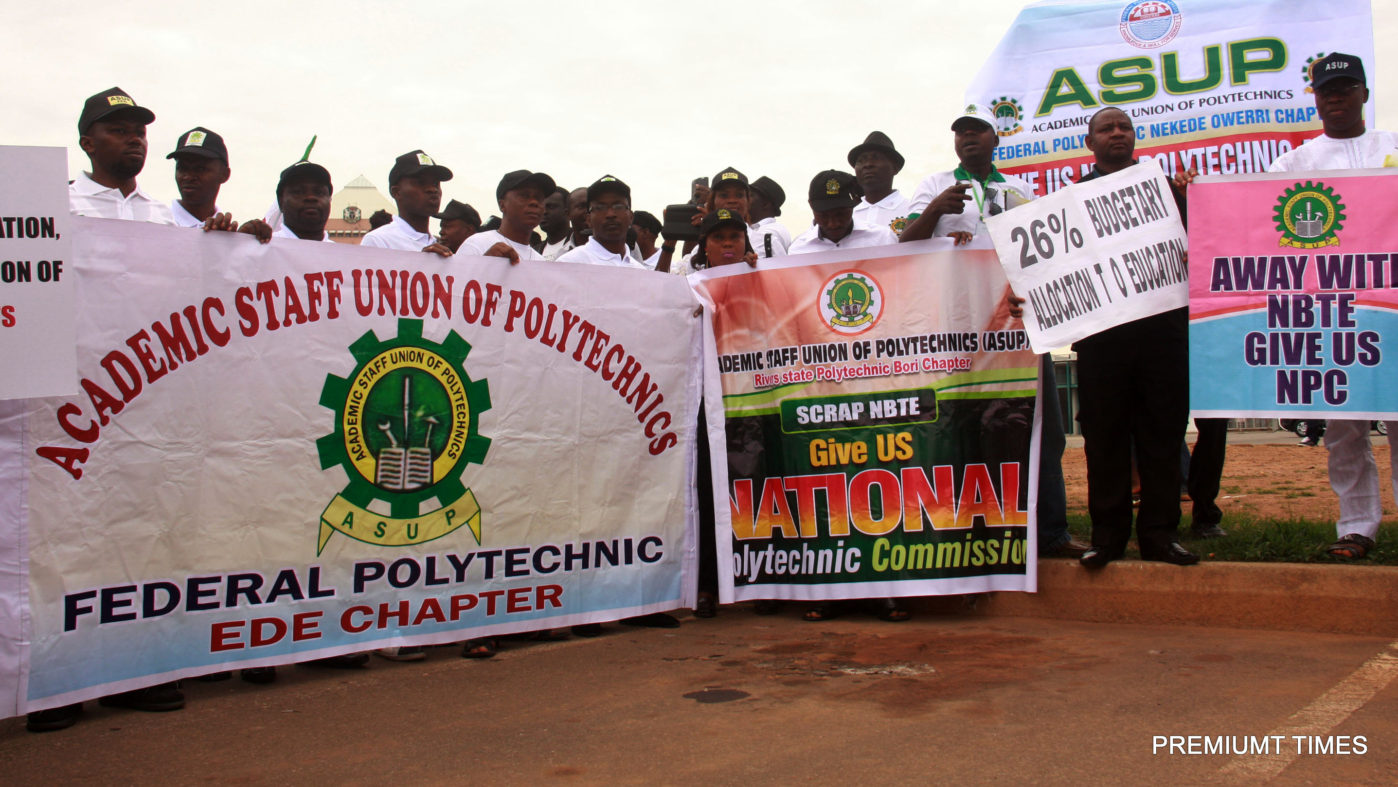 ASUP to embark on one-week nationwide strike