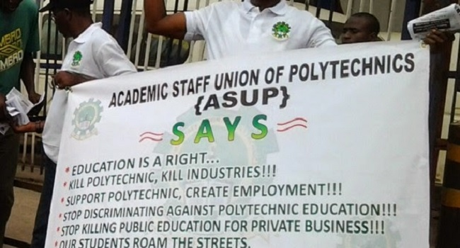 Polytechnic Lecturers begin 10-day warning strike
