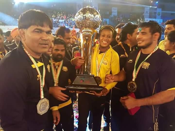 Adekuoroye wins Pro Wrestling League again with Punjab