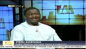 No reason for panic over Buhari's health – Adesina