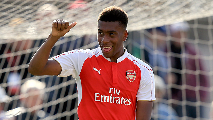 Arsenal stop Iwobi from Glo-CAF award