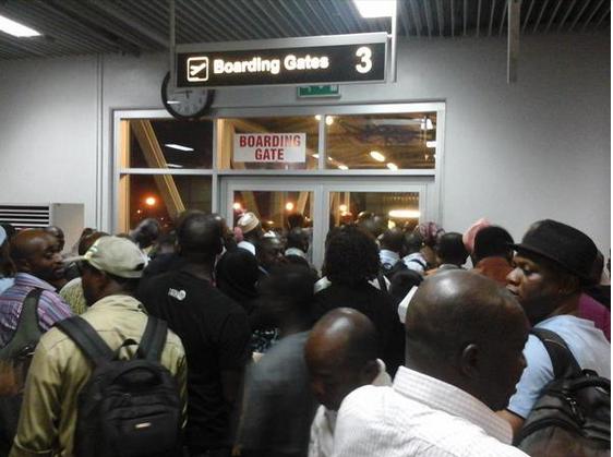 Arik passengers stranded at Kaduna airport