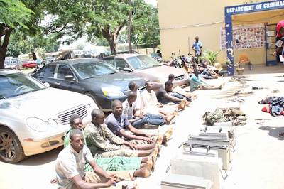 Bauchi kidnappers arrested while expecting ransom on 48 hostages