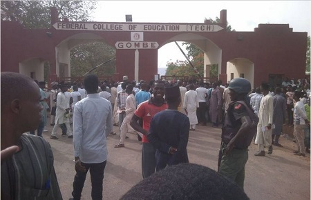 FCE Gombe expels 29 students over riot